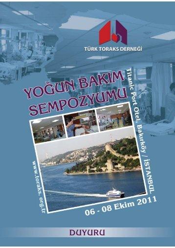 DUYURU - Türk Toraks Derneği