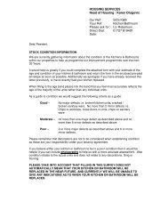 Kitchen and Bathroom self assessment form - St Albans City ...