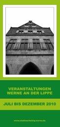 Veranstaltungen Werne an der lippe - Verkehrsverein Werne e.V.