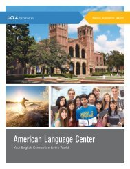 American Language Center - UCLA Extension