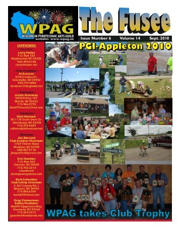 Volume 14 Issue 6 - September 2010 - WPAG