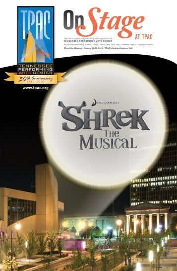 Shrek the Musical - Tennessee Performing Arts Center