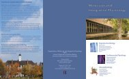 Brochure 1 - The School of Molecular and Cellular Biology ...