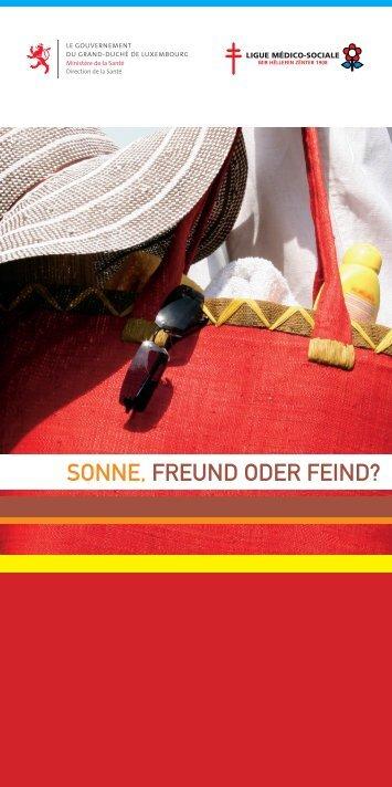 SONNE, FREUND ODER FEIND?