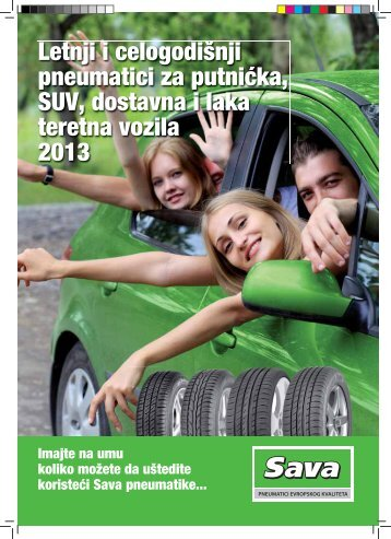Katalog - pneumatika Sava 2013 - Vulco