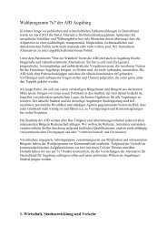 Kommunalwahl 2014 in Augsburg - AfD in Augsburg