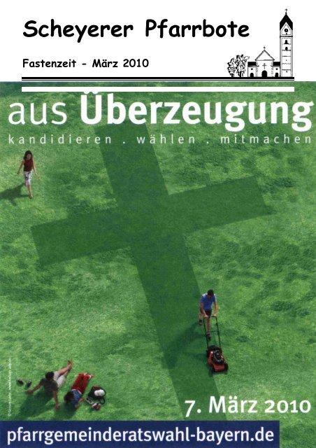 3_2010 ohne PGR KandidatInnen\374 - Pfarrei Scheyern