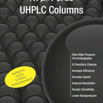 1.7µm Fortis™ C18 UHPLC Columns