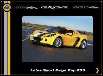 Exige Cup 255 - lotus elise