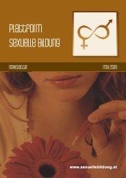 Newsletter Mai 2009 - Plattform sexuelle Bildung