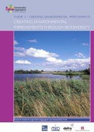 creating environmental improvements through biodiversity