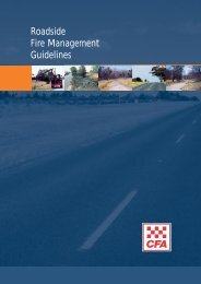 Road Management Guidelines - Country Fire Authority