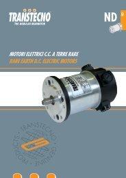 motori elettrici cc a terre rare rare earth dc electric motors - Transtecno