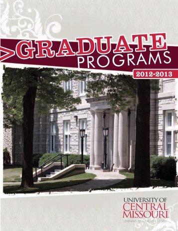 2012-2013 - University of Central Missouri