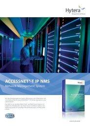 ACCESSNET®-T IP NMS - Hytera Mobilfunk GmbH