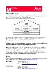 Gesamtprogramm Management 2010 - Caritasverband der ...
