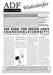 Wadenbeißer Nr. 83 vom 14.12.2009 [PDF] - ADF ...