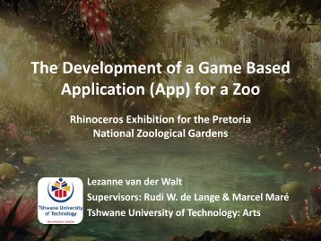 The Development of a Game Based Application (App) for ... - Saastec