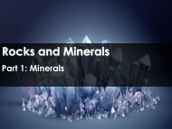 What Is A Mineral? - Science with Mr. Enns