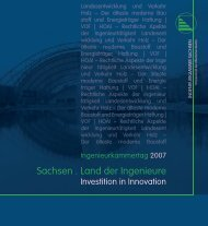 Investition in Innovation - Ingenieurkammer Sachsen