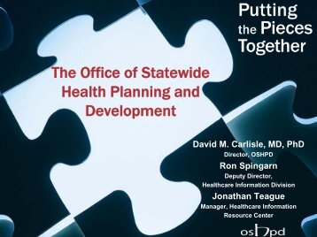 Healthcare Outcomes Center - Office of Statewide Health Planning ...