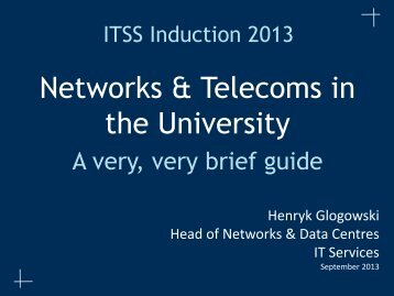 Network & Telecomms - IT Services