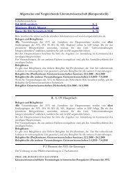 Vorlesungsverzeichnis Sommersemester 2010 - Institut für ...