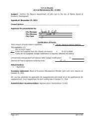 Action Memorandum 11-055 - City of Palmer, Alaska