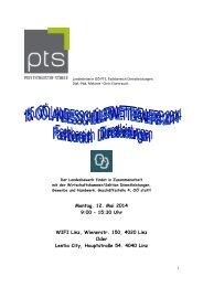 OÖ: Info Landesbewerb Dienstleistung