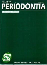 sociedade brasileira de periodontologia - Revista Sobrape