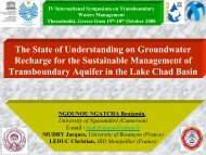 Presentation of the Lake Chad Bassin - INBO