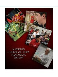 2013-2014 Course of Study Handbook - Kennewick School District