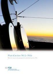 Plan d'action 2013-2016 (PDF, 1.3 MB)