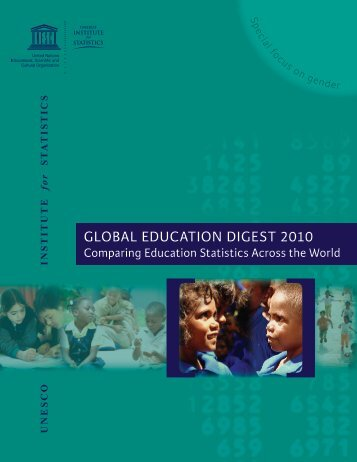 Global Education Digest 2010 - Institut de statistique de l'Unesco