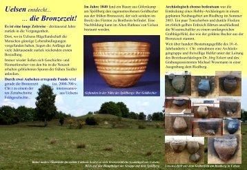 Uelsen entdeckt... ... die Bronzezeit! - Uelsen und Umgebung