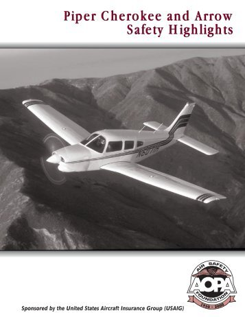 Piper Cherokee and Arrow - Aircraft Owners and Pilots Association