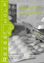 Ausgabe als PDF downloaden. - Reisswolf - Technische Universität ...
