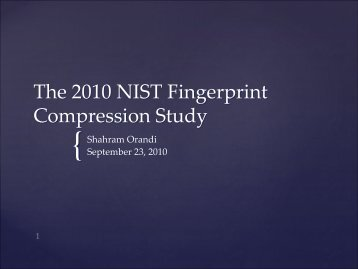 Fingerprint Compression