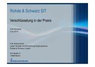 Rohde & Schwarz SIT - IHK Nürnberg für Mittelfranken