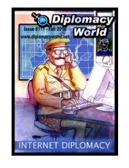 Diplomacy World #111 - Fall 2010 Issue