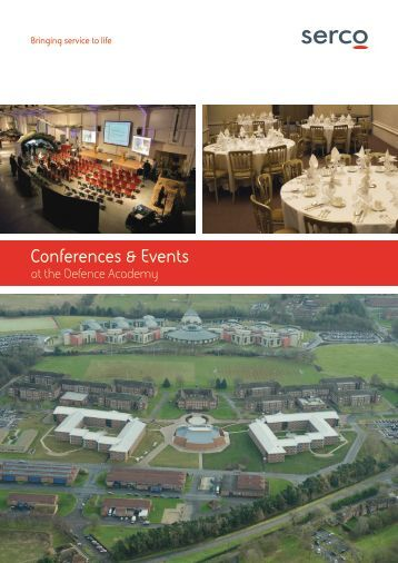 Conference and Event Facilities Brochure - Defence Academy of the ...