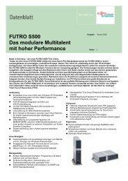 FUTRO S500 Das modulare Multitalent mit hoher Performance