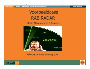 Rabobank Private Banking case