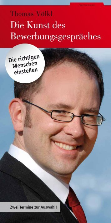 Die Kunst des Bewerbungsgespräches - SchmidtColleg GmbH & Co ...