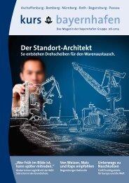 Kundenmagazin kurs bayernhafen 06/2013 - bayernhafen Gruppe