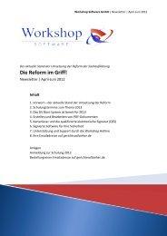 Die Reform im Griff! - Workshop Software GmbH