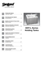 SeaLand DHT-L series holding tank instruction manual