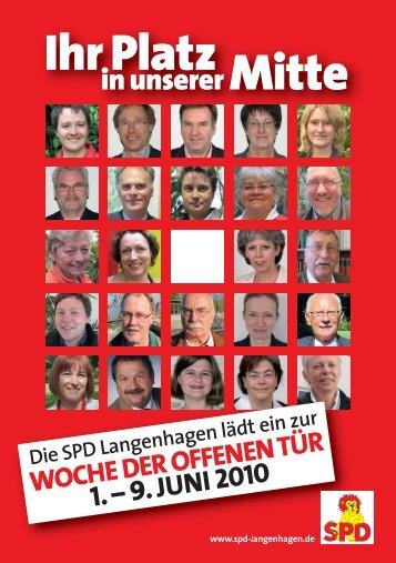Handzettel zum Download - SPD-Langenhagen