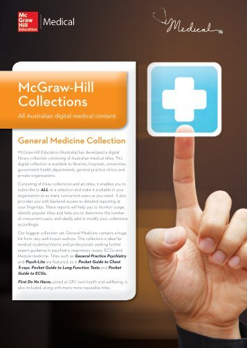 General Medicine Collection - McGraw-Hill Education Australia ...