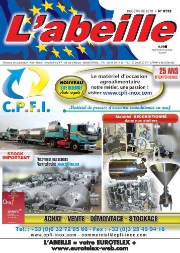 Mise en page 1 - L'abeille, Votre Eurotelex + Revue professionnelle